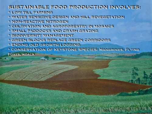 Key aspects of sustainable food production